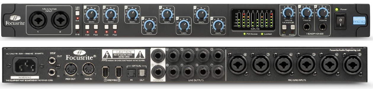 Help with adat setup with 2 different brand interfaces avid pro.